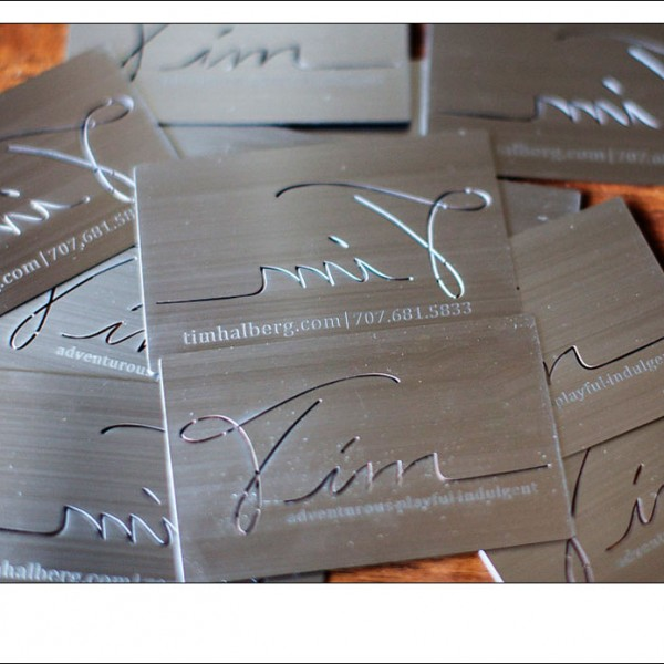 Adventurous wedding photography from california and abroad page 13 metal business cards adventurous playful indulgent reheart Images