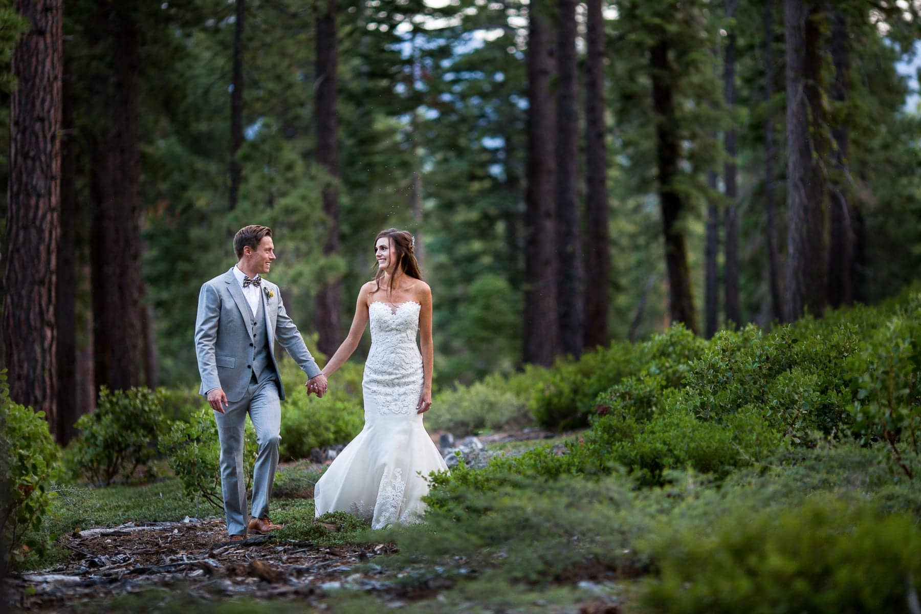 private estate wedding lake tahoe