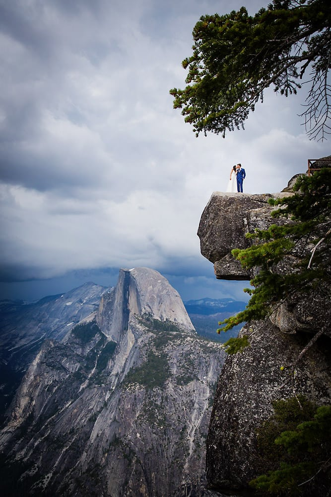 Wedding Photos at Glacier Point