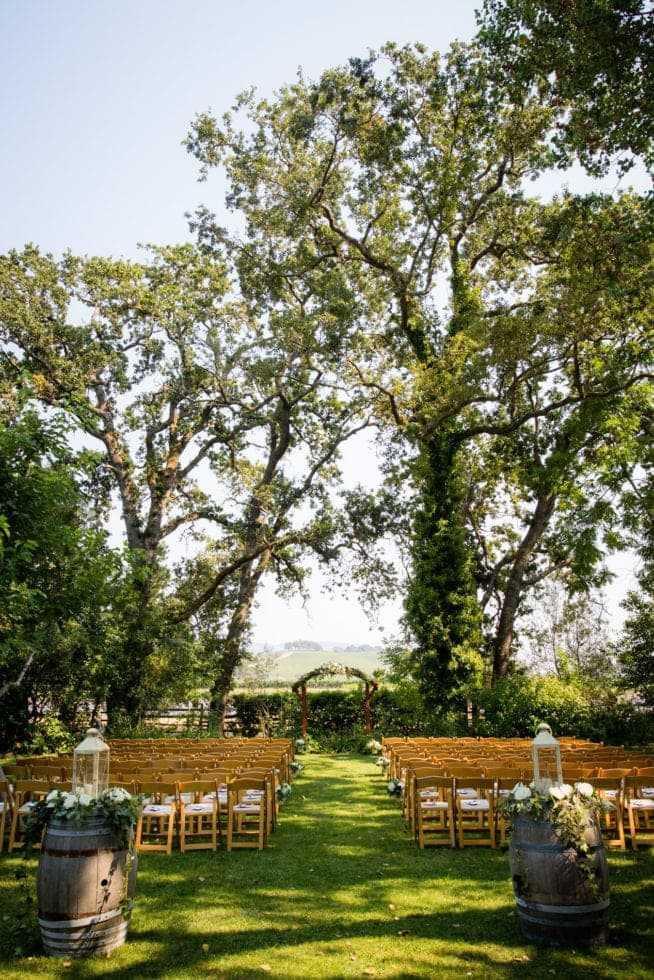 wedding at kenwood ranch sonoma