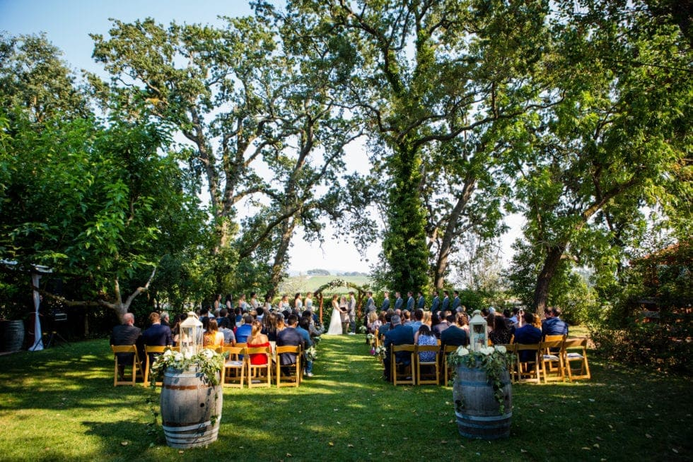 wedding photography at kenwood ranch in sonoma