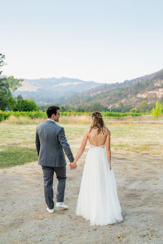 outdoor wedding photography in sonoma