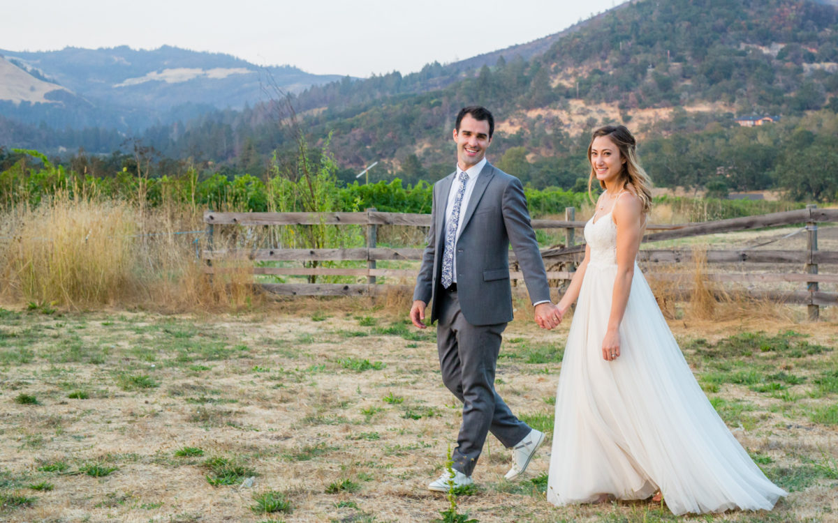 Kenwood Ranch Sonoma Wedding of Isa and Matt
