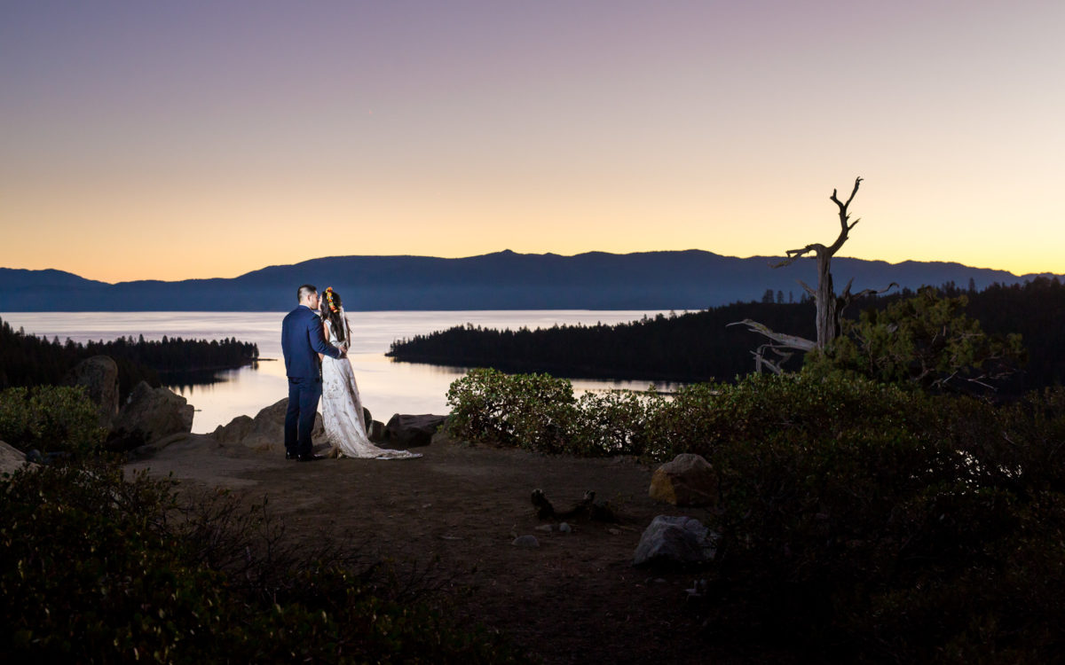 South Lake Tahoe Wedding of Christiana and Jeffrey