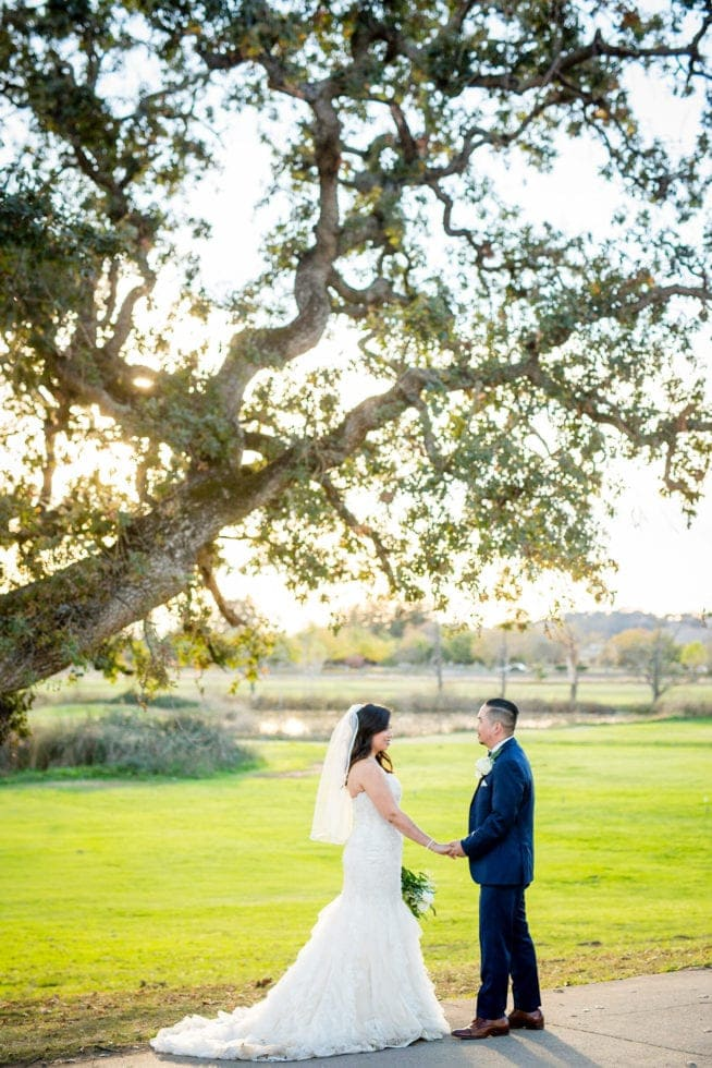 outdoor wedding photography in napa