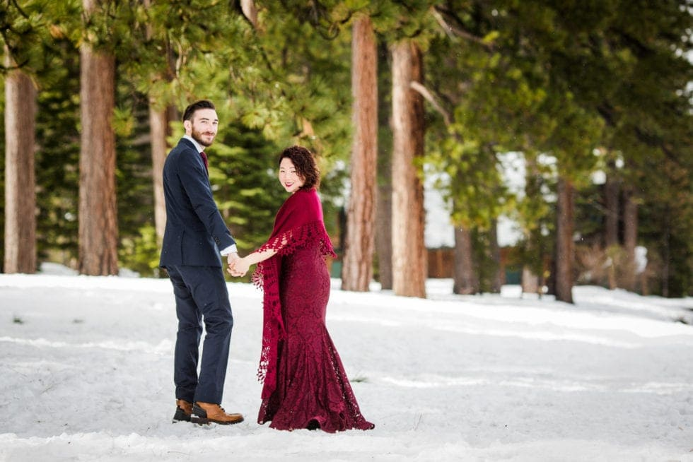 Wedding Photos at Lake Tahoe