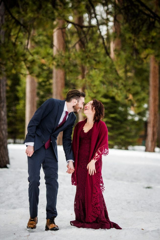 Wedding Portraits at South Lake Tahoe