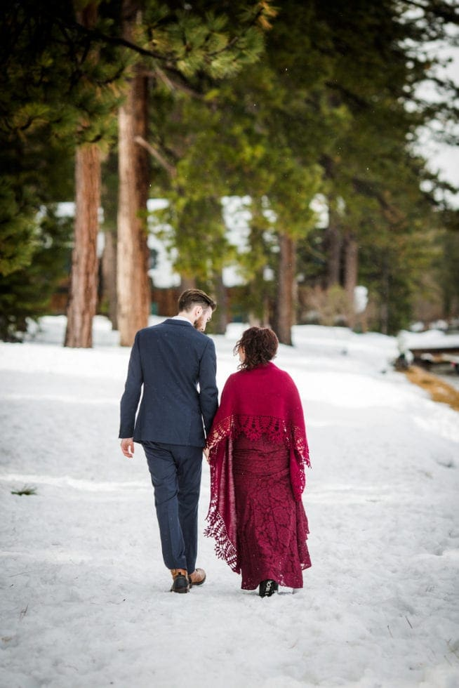 Wedding Pictures at Lake Tahoe