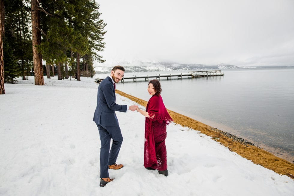 Wedding Portraits at Lake Tahoe