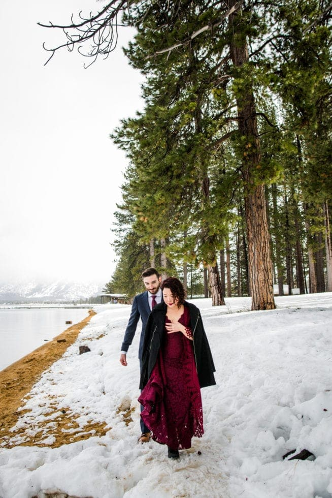 Wedding Photographer at Lake Tahoe