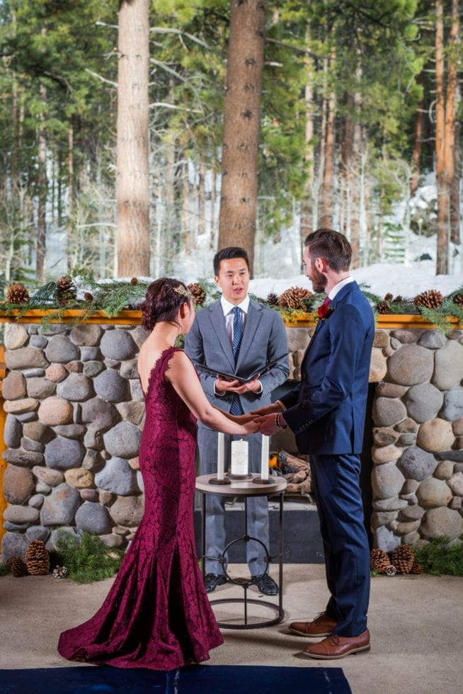 Wedding Reception Photography at South Lake Tahoe