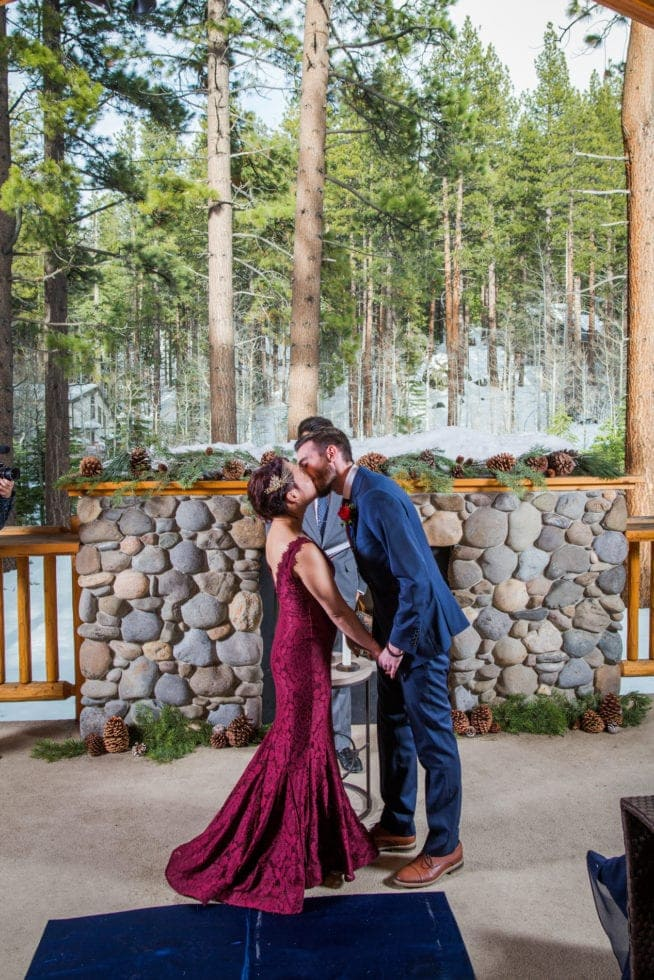 Wedding Reception Photographs at Lake Tahoe