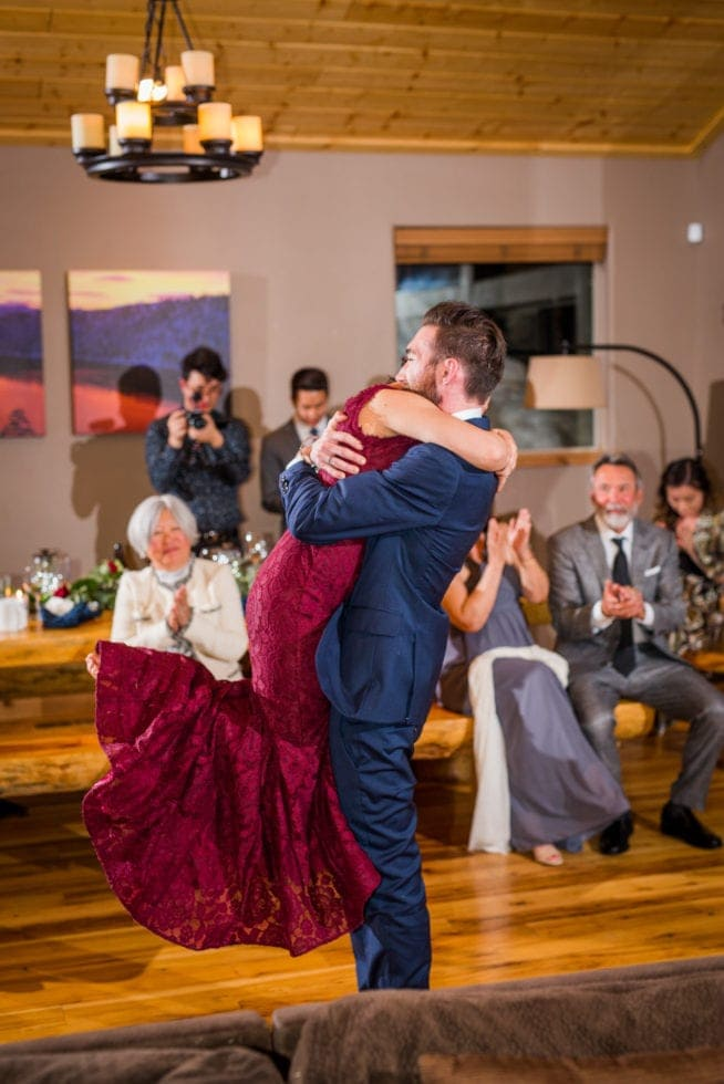 South Lake Tahoe Wedding Reception Pictures