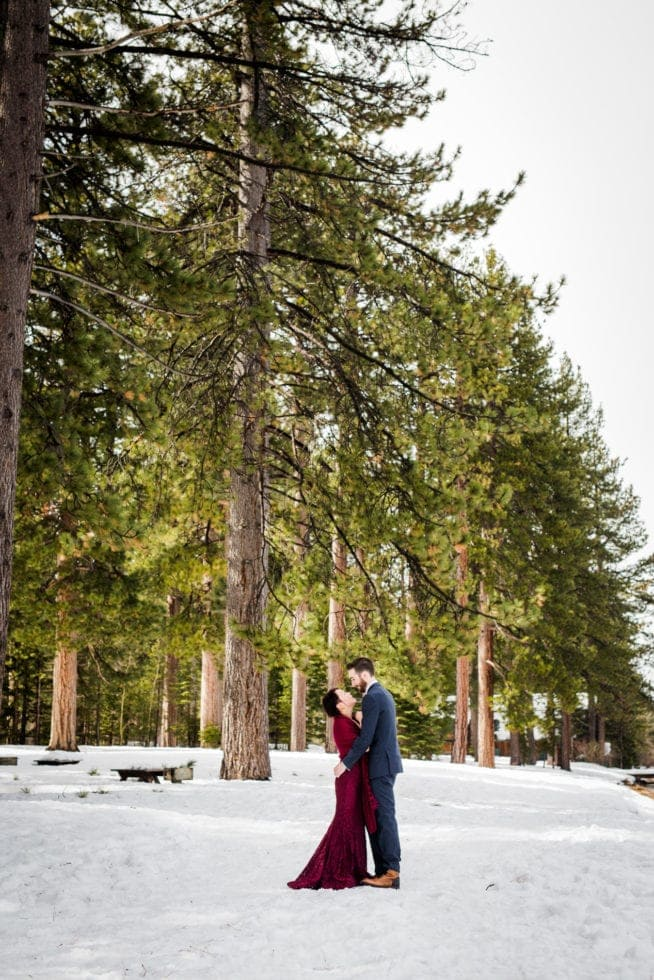 Wedding Pictures at South Lake Tahoe