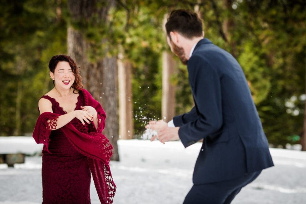 Wedding Photographer at South Lake Tahoe