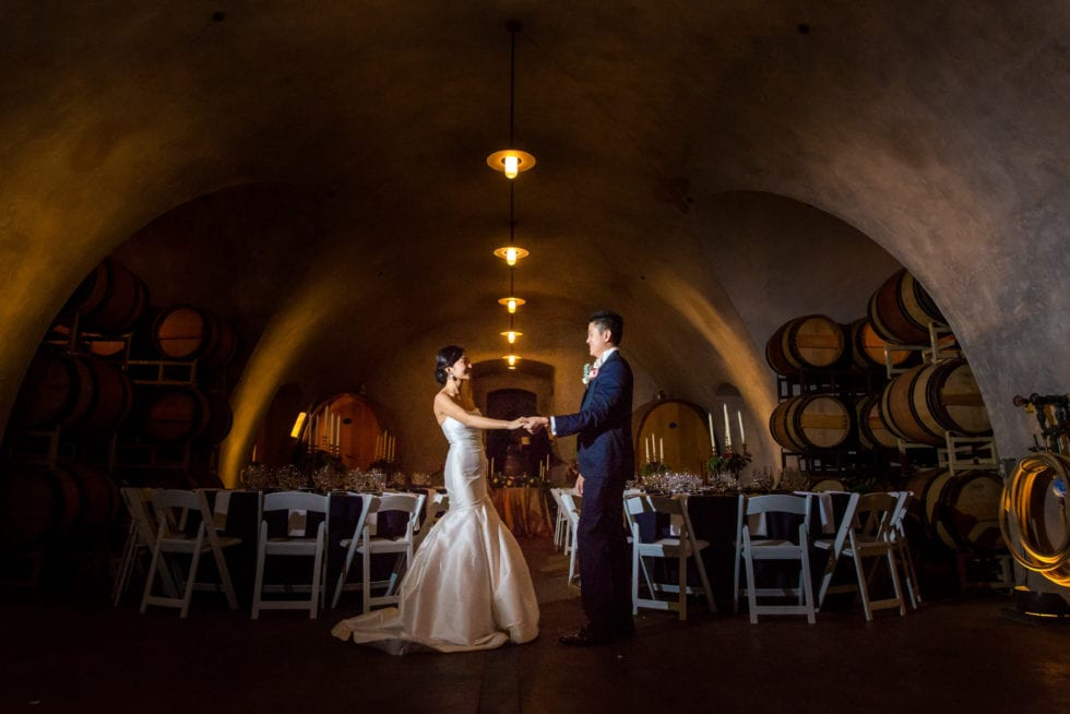 wedding photographs at viansa winery