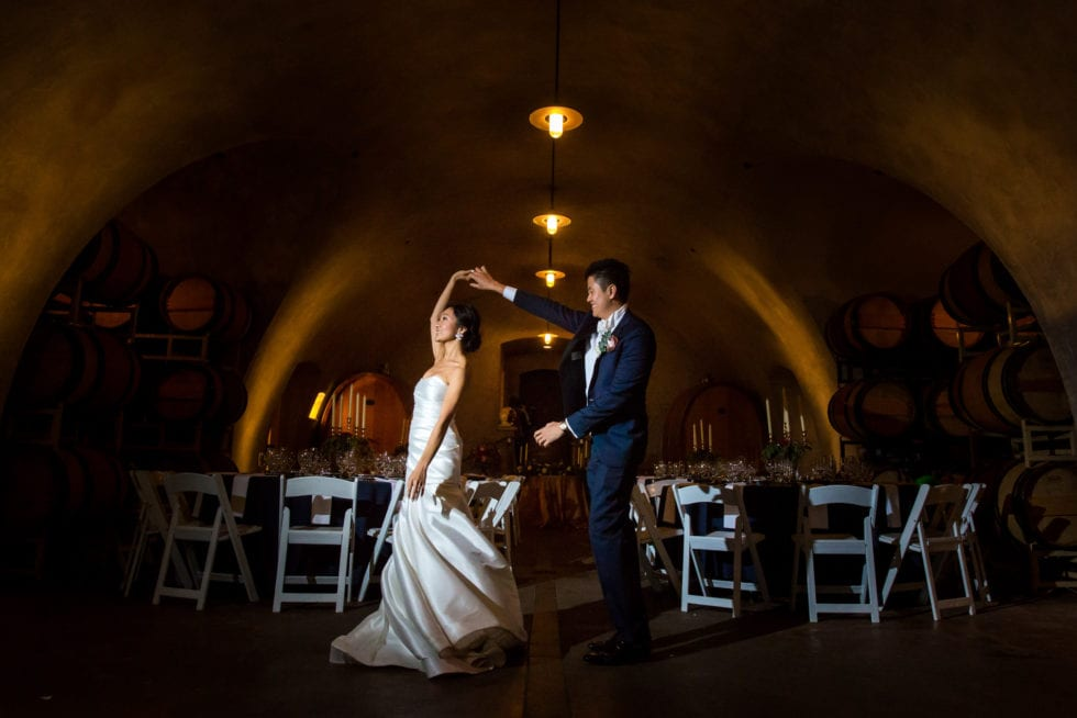 wedding photos at viansa winery