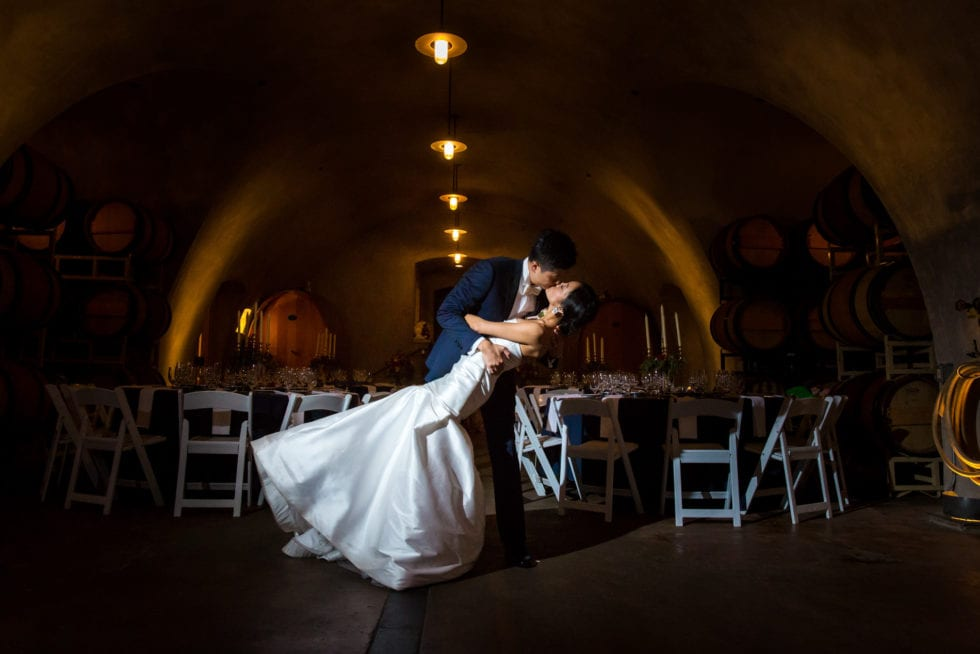 wedding photography at viansa winery