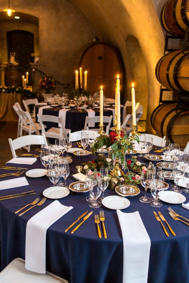 viansa winery wedding reception room