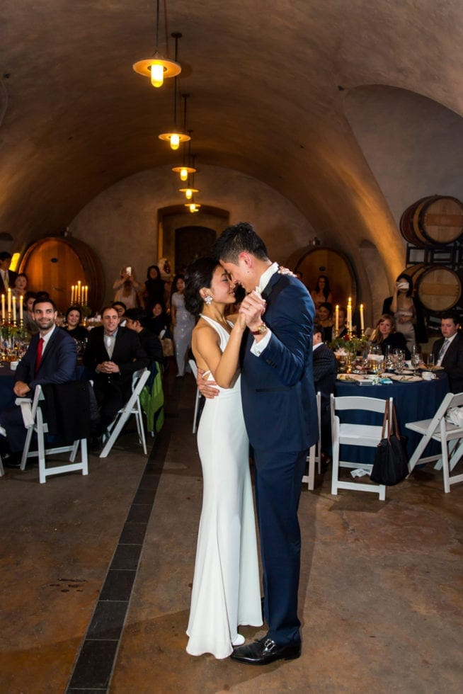 viansa winery wedding reception pictures