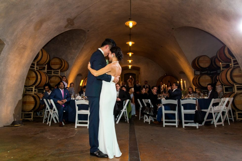 wedding reception photos at viansa winery