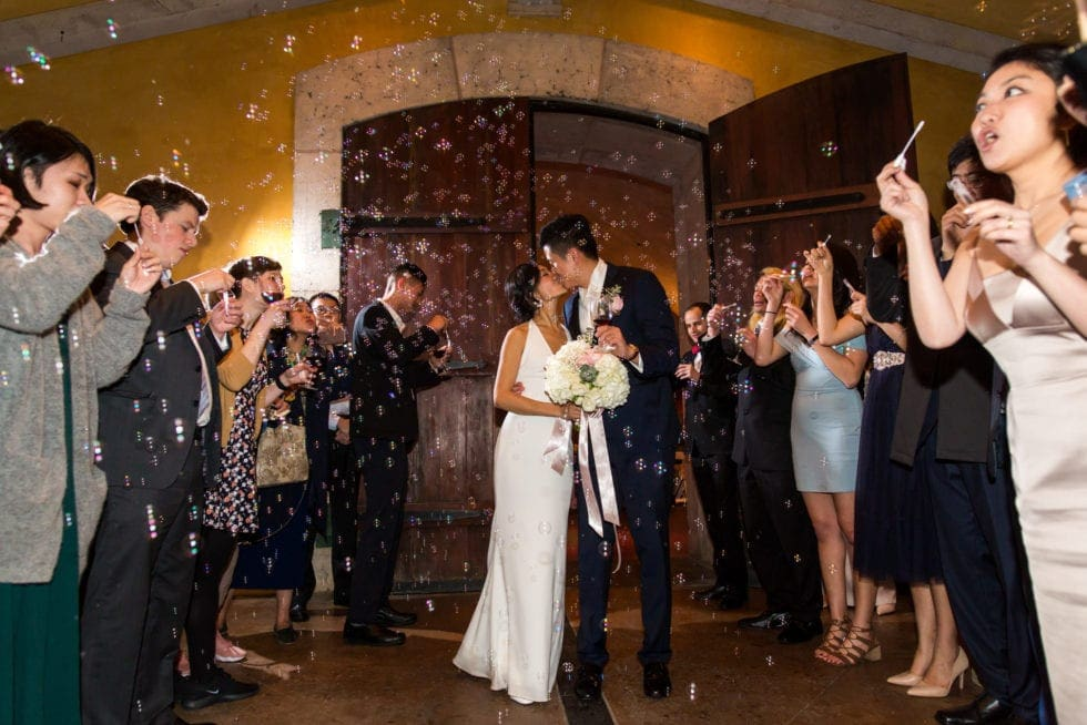 wedding reception pictures at viansa winery