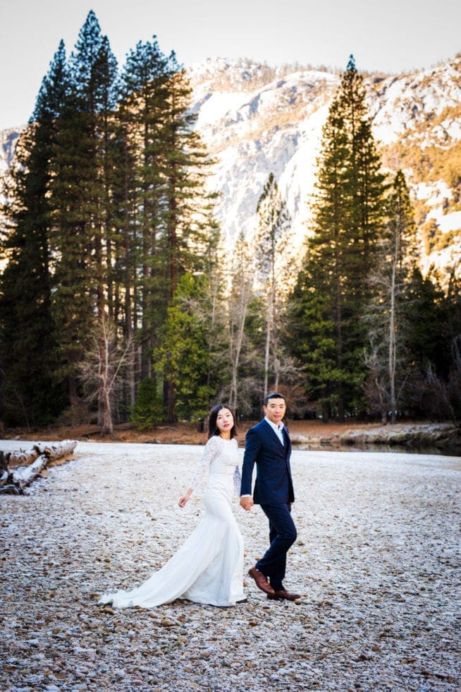 Wedding Photos at Yosemite