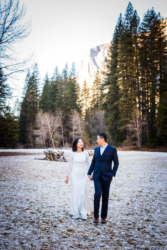 Wedding Pictures at Yosemite