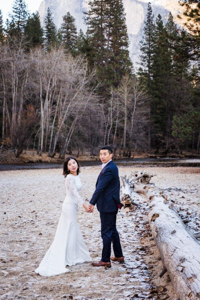 Adventure Wedding Photos in Yosemite