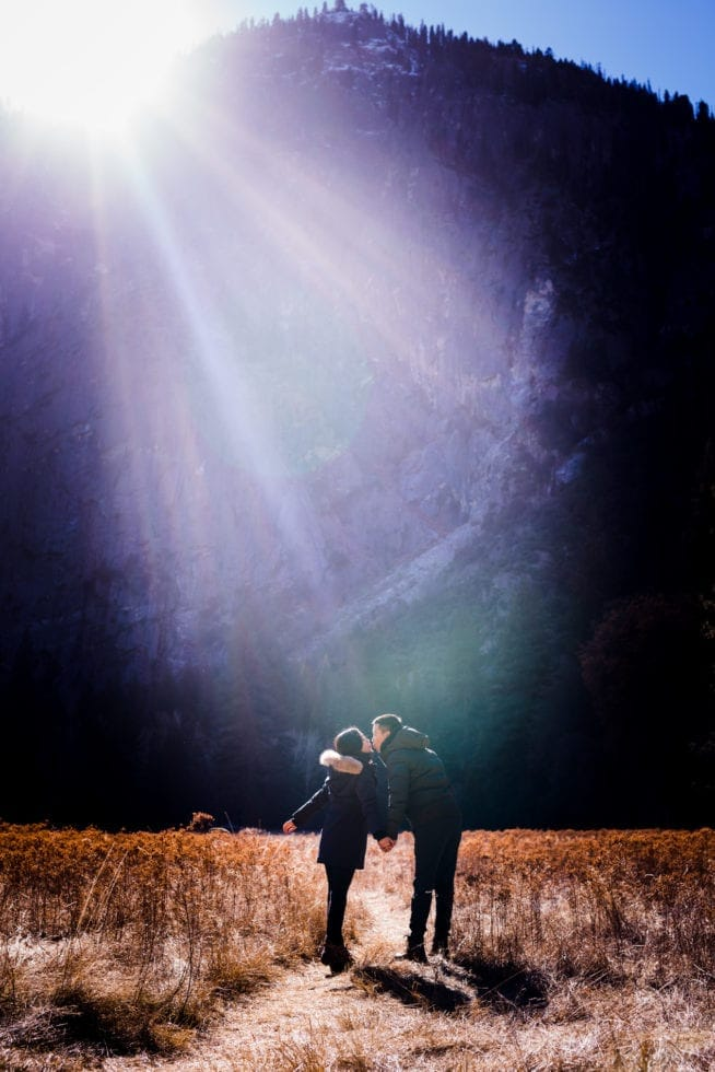 Engagement Photography in Yosemite