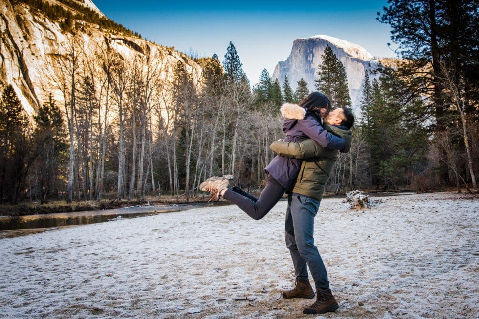 Yosemite Engagement Pictures