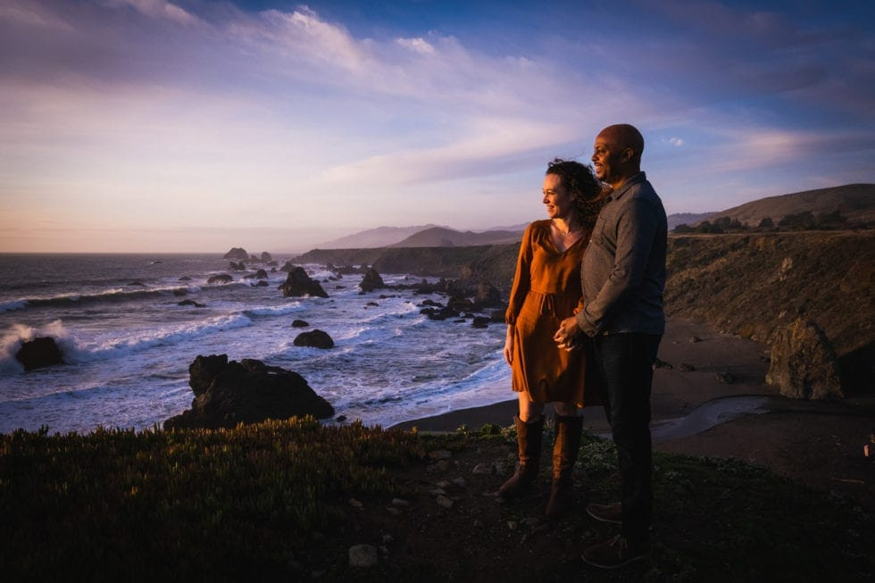 Sonoma Coast State Park Engagement Session Photos