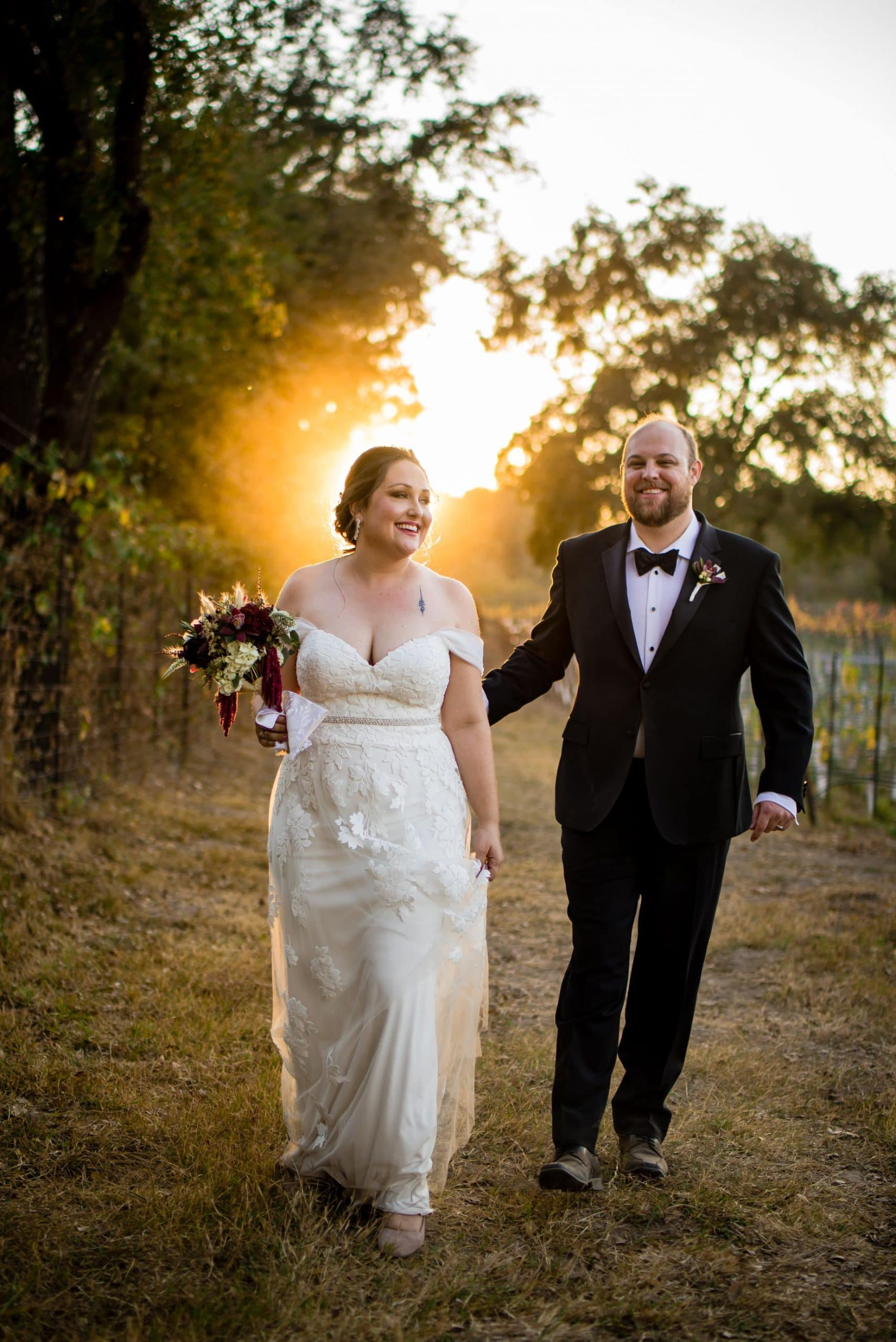 Wedding Pictures at the Russian River Valley