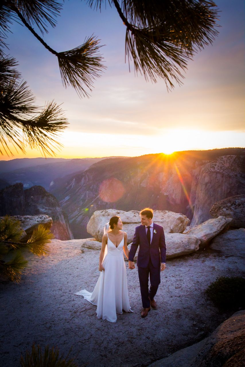 Wedding Photos at Taft Point