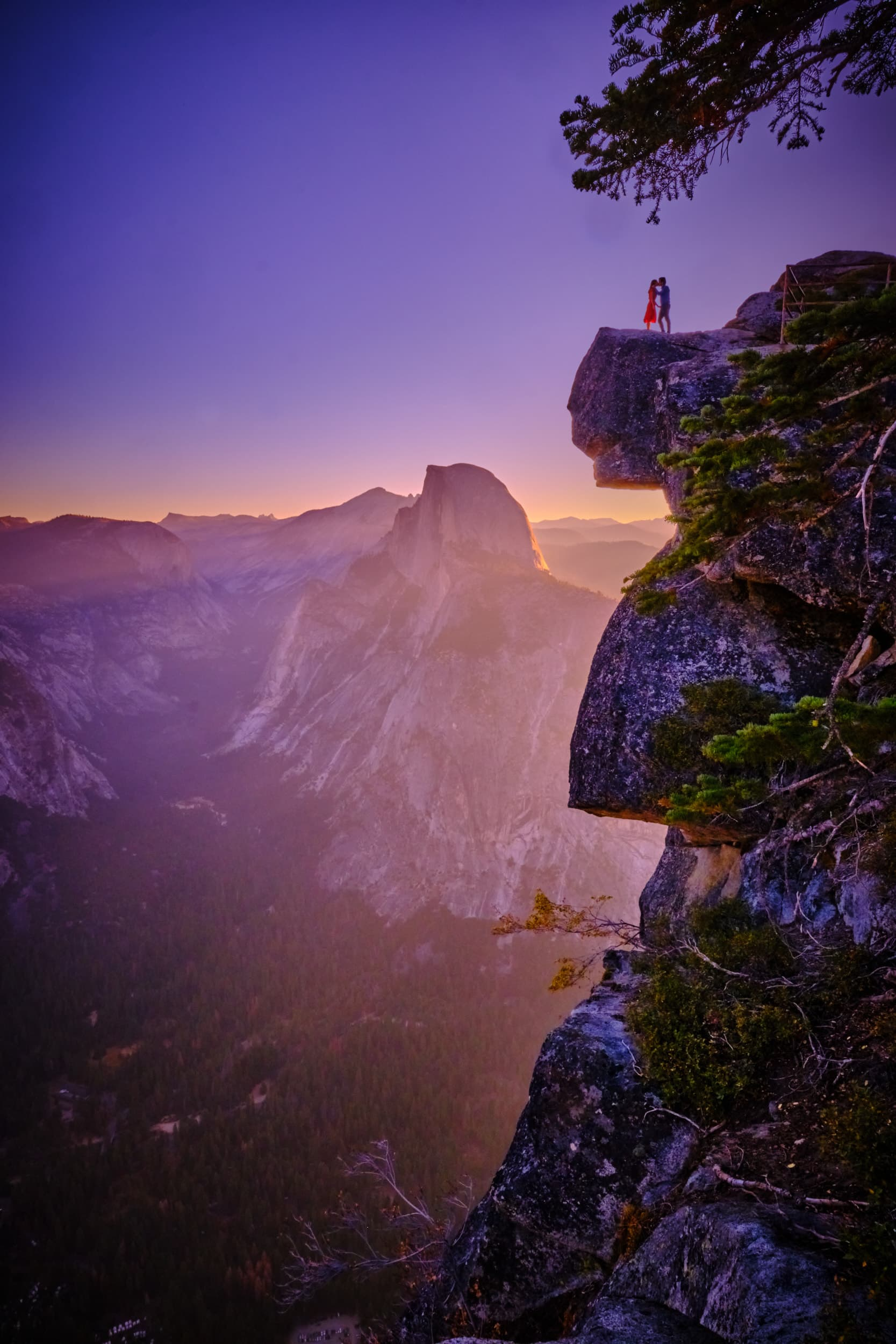 Tim Halberg Glacier Point Sunrise Wedding Photography