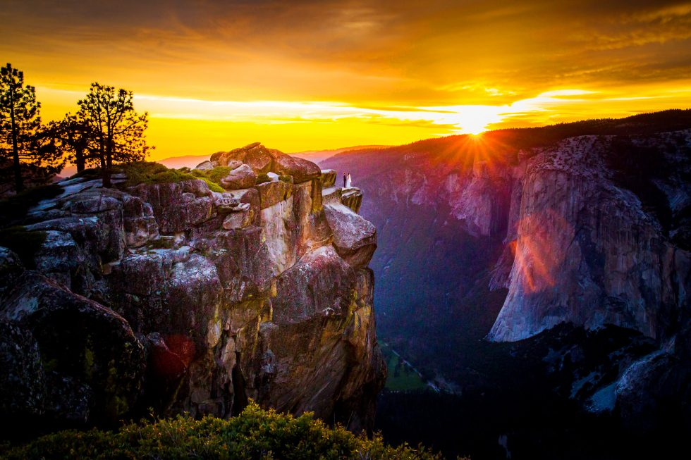 Taft Point Yosemite Wedding Location